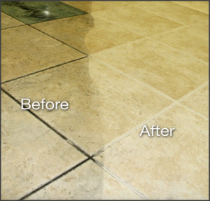 Tile & Grout Cleaning Before / After